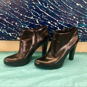Nine West Pointed Toe Booties - Black